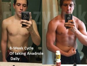8 Week Cycle of using Anadrole