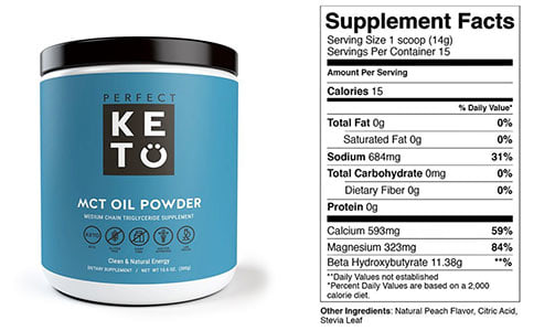 MCT Powder from Perfect Keto