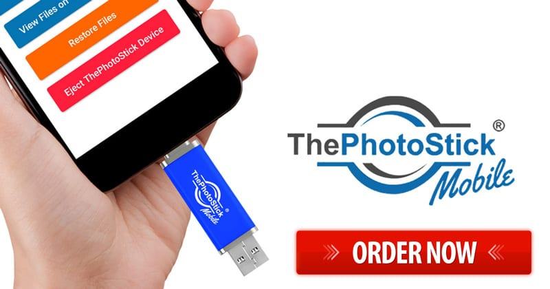 Order now ThePhotoStick Mobile
